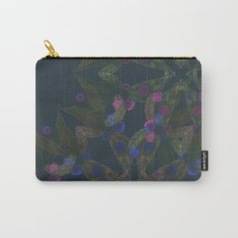 TINY FLORAL Carry-All Pouch