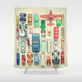 Free Parking Shower Curtain