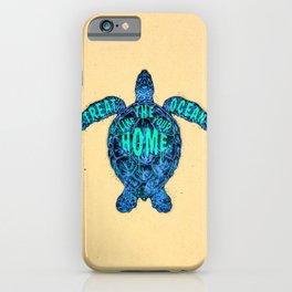 ocean omega iPhone Case
