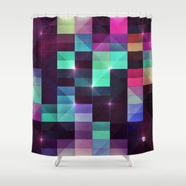 yts blycks Shower Curtain