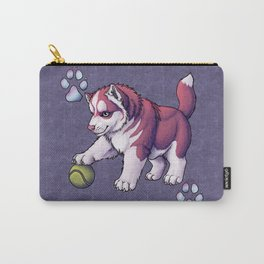 Husky Puppy Carry-All Pouch