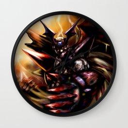 Dark Zero Wall Clock