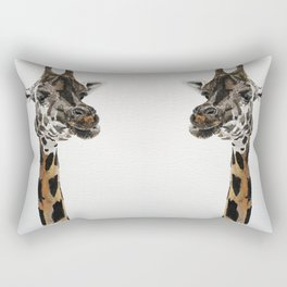 Giraffa camelopardalis Rectangular Pillow