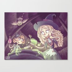 Little Witches Canvas Print