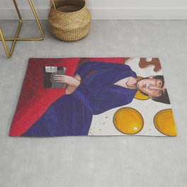 Fifty Shades Of Fried Eggs Rug