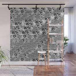 Flowers and Textiles Wall Mural