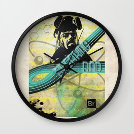 Breaking Bad Retro-70s-Style Graphic  Wall Clock