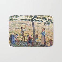 Camille Pissarro - Apple Harvest Bath Mat