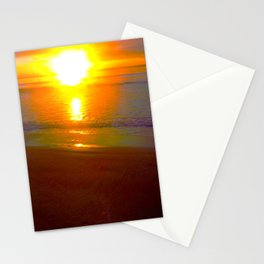 Fiery Dawn over Jervis Bay Stationery Cards