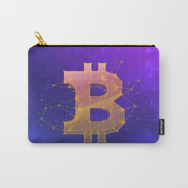 BITCOIN Galaxy Carry-All Pouch