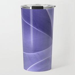 Periwinkle Succulent Travel Mug