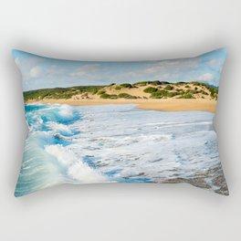 Landscape of Beach Rectangular Pillow