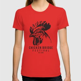 Chicken Bridge Festival, 2018 T-shirt