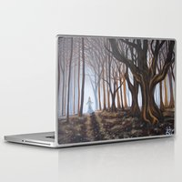 forrest Laptop & iPad Skins featuring Dark Forrest by Annette Jimerson