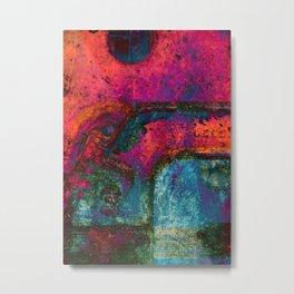 B-Abstract 01 Metal Print