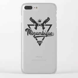 Mozambique Here! Clear iPhone Case