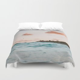 summer sunset iv Duvet Cover