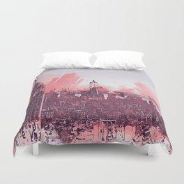 New York Panorama Duvet Cover