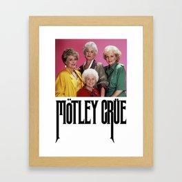 Golden Girls! Girls! Girls! Framed Art Print