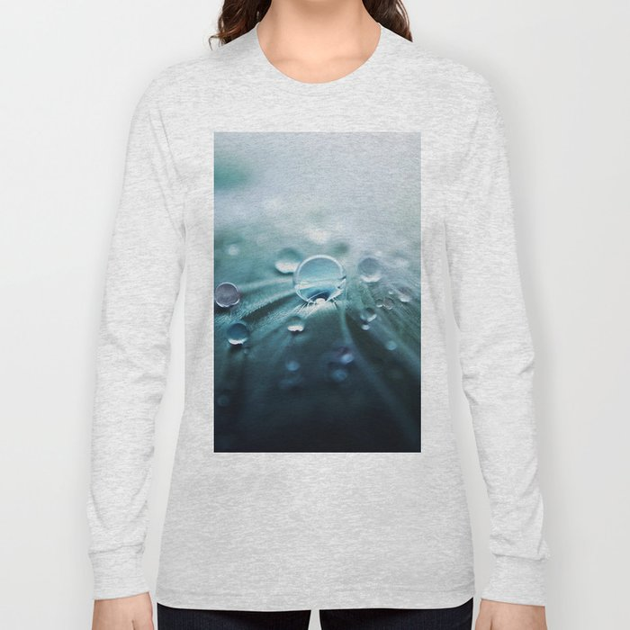 Rain drop Long Sleeve T-shirt