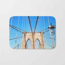 267. Brooklyn Bridge, New York Bath Mat