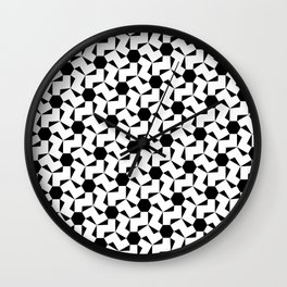 Damascus Motif Wall Clock