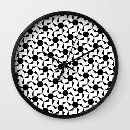Damascus Motif Wall Clock