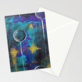 Anti-Gravity, Mixed Media Stationery Cards