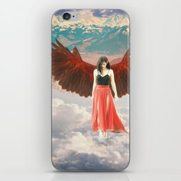 Lady of the Clouds iPhone Skin