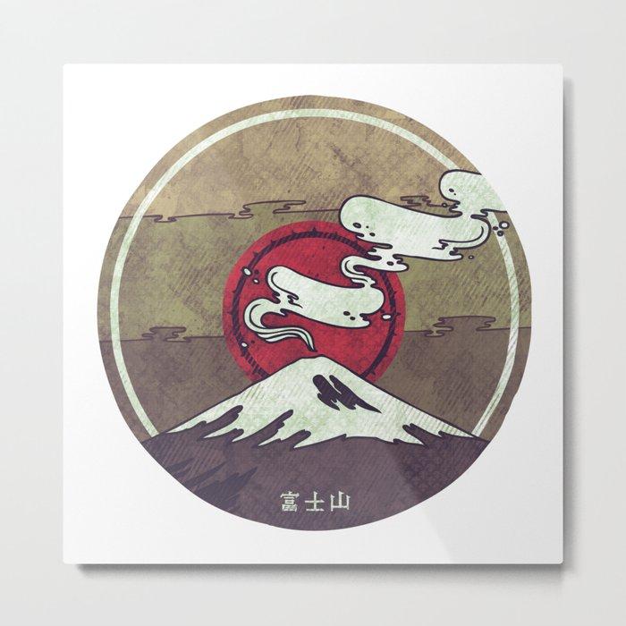 Fuji Metal Print