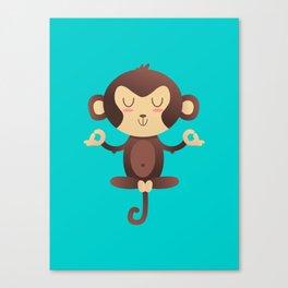 ChimpanZEN Canvas Print