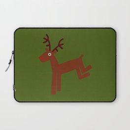 Reindeer-Green Laptop Sleeve