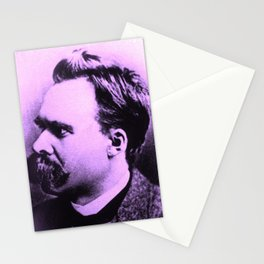 Nietzsche Baba Stationery Cards