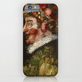 Giuseppe Arcimboldo - Spring iPhone Case