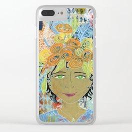 Carmella Clear iPhone Case