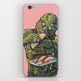 Taco Tuesday 01 - Monster of the lake iPhone Skin