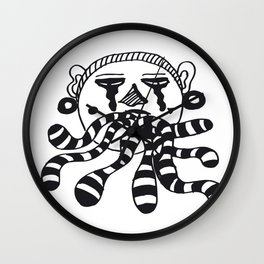 Dirty Mouth Wall Clock