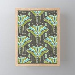 La maison des papillons Framed Mini Art Print
