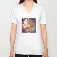 florida V-neck T-shirts featuring Florida by wendygray