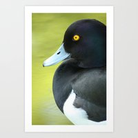 duck Art Prints featuring Duck by BlackNYX