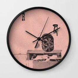 fin de emision Wall Clock