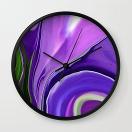 Crocus Abstract16 Wall Clock