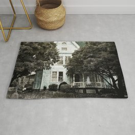 Haunted Hauntings Series - House Number 3 Rug
