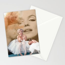 Marilyn Portrait Collage 3 Stationery Cards