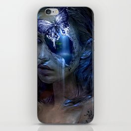 BEAUTY IN THE EYE OF THE BEHOLDER 002 iPhone Skin