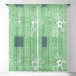 Neural Network 3 Sheer Curtain