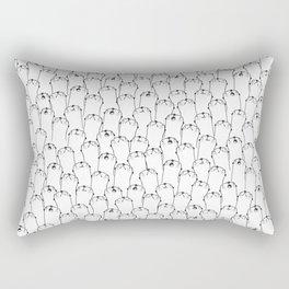 Otter pattern Rectangular Pillow
