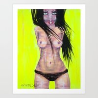 general Art Prints featuring General by Milan Evje