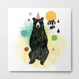 Bear Scape Metal Print