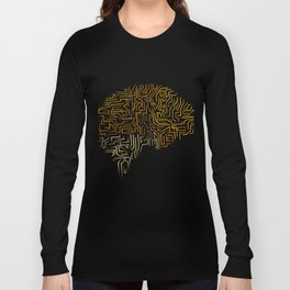 Neuroscience Superhuman Brain Gift Long Sleeve T-shirt